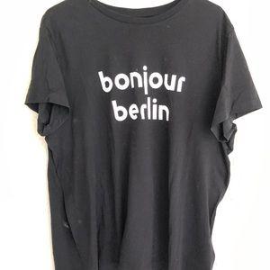 H&M unisex T-shirt bonjour Berlin L